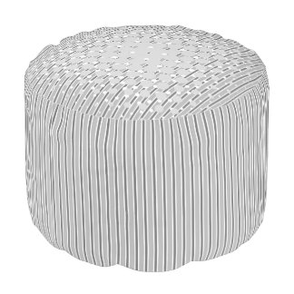 Pouf - Density Design in Monochrome grey