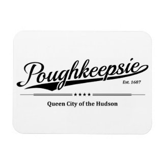 Poughkeepsie - Queen City of the Hudson - Black Magnet
