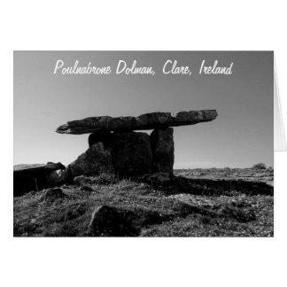 Poulanabrone Dolman, Clare, Ireland Card