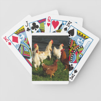 Poultry Bicycle Playing Cards