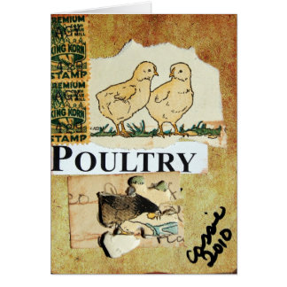 Poultry Card