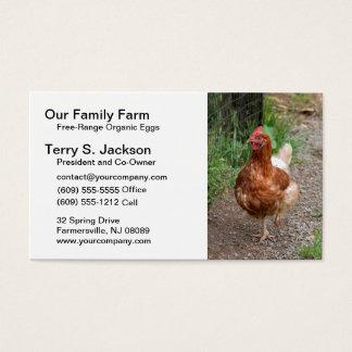Poultry Farm Business Card