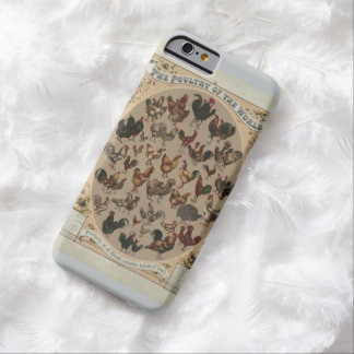 Poultry of the World (1868) Barely There iPhone 6 Case