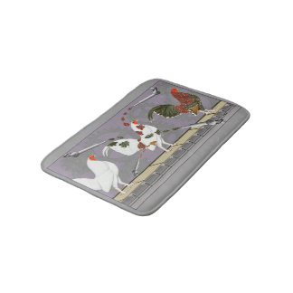 Poultry Painter Bath Mat