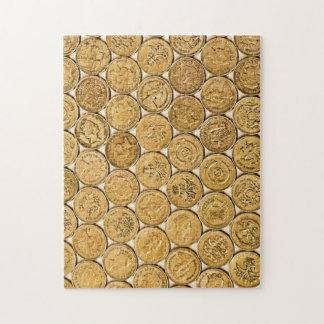 Pound coin jigsaw jigsaw puzzle