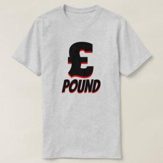 £ pound sterling, Grey T-Shirt