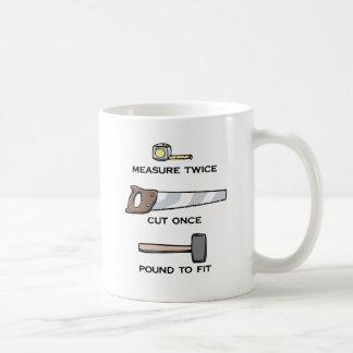Pound To Fit Basic White Mug