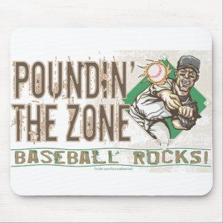 Poundin' the Zone Mousepad