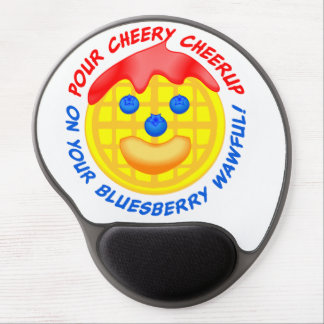 """Pour Cheery Cheerup On Your Bluesberry Wawful!"" Gel Mouse Pad"