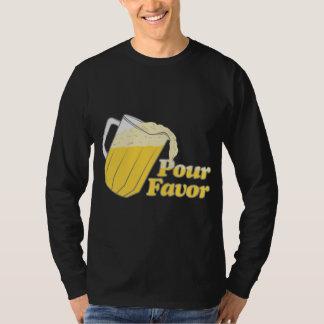 Pour Favor Beer Pitcher T-Shirt