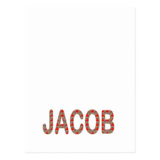 Pour JACOB Name  artist NavinJOSHI artistique GIFT Postcard
