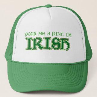 Pour me a pint I'm Irish Trucker Hat