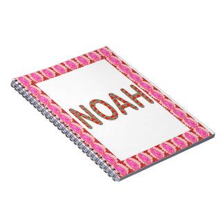Pour NOAH: ARTIST NavinJOSHI gifts artistique Spiral Notebooks