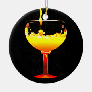 Pouring Drink Ceramic Ornament