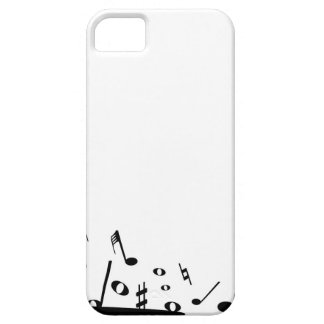 Pouring Musical Notes Barely There iPhone 5 Case