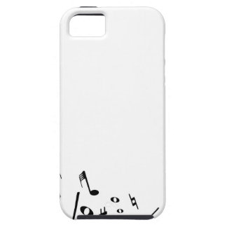 Pouring Musical Notes iPhone 5 Case