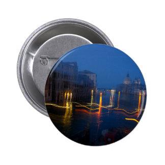 Pouring Venice 6 Cm Round Badge