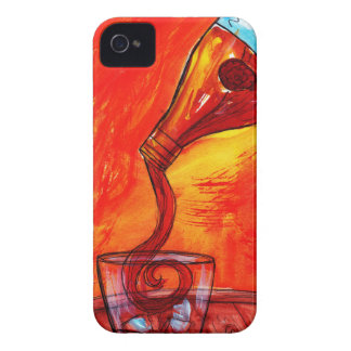 Pouring Whiskey Case-Mate iPhone 4 Case