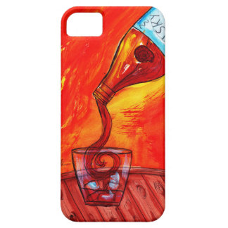 Pouring Whiskey iPhone 5 Cover
