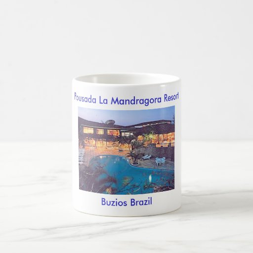 Pousada La Mandragora Resort Coffee Mugs