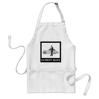 Poverty Sucks - Wealthy Billionaire Motivational Standard Apron