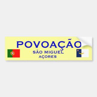Povoacao Azores - Bumper Sticker
