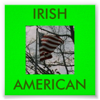 POW!!!!, IRISH, AMERICAN POSTERS