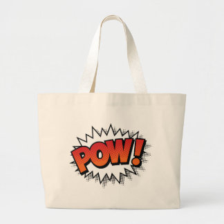 pow large tote bag