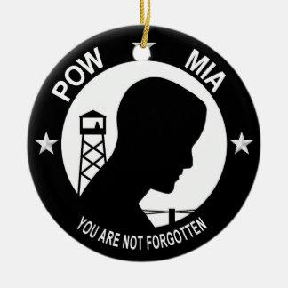 POW MIA Ornament