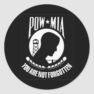 POW MIA Sticker