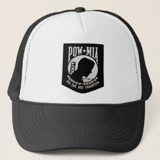 POW/MIA TRUCKER HAT