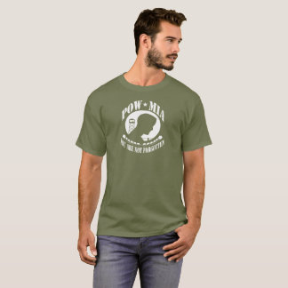 POW MIA YOU ARE NOT FORGOTTEN HERO SHIRTS