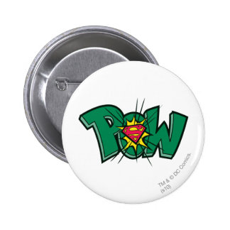 Pow Pinback Button