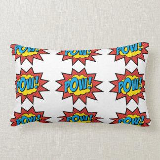 Pow! Pop Art Pillow! Lumbar Cushion