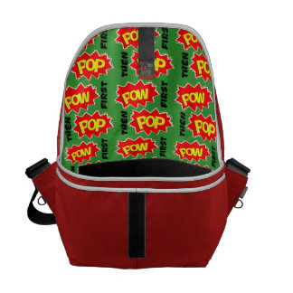 POW POP MESSENGER BAG