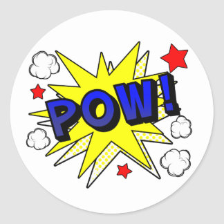POW! Sticker Sheet