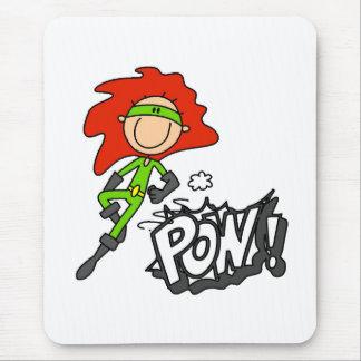 POW Super Boy Mouse Pad