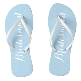 Powder Blue Bridesmaid Thongs