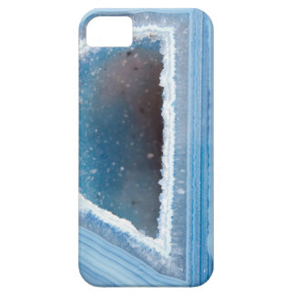 Powder Blue Geode Druzy Barely There iPhone 5 Case