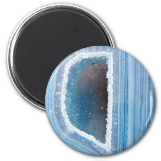 Powder Blue Geode Druzy Magnet