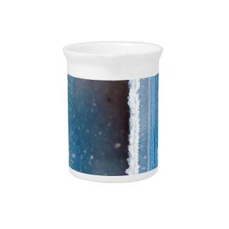 Powder Blue Geode Druzy Pitcher