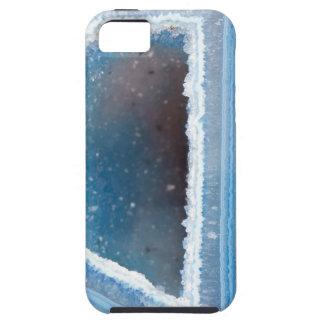 Powder Blue Geode Druzy Tough iPhone 5 Case