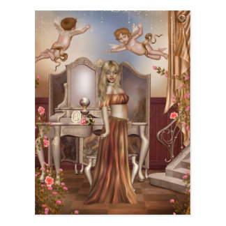 Powder Room Postcard