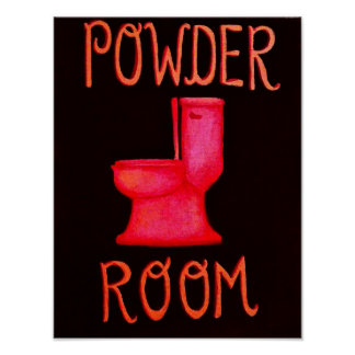 Powder Room Poster