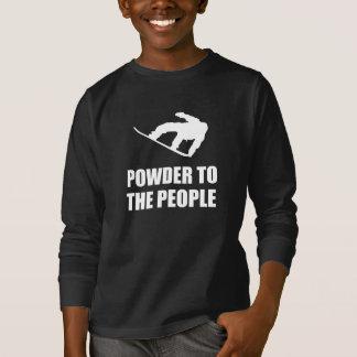 Powder Snow To The People Ski T-Shirt
