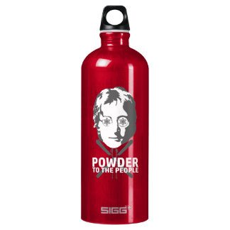 Powder To The People Water Bottle