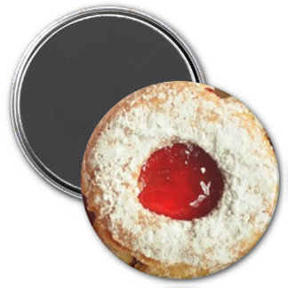 Powdered Sugar Jelly Cookie Magnet