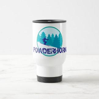 Powderhorn Ski Circle Travel Mug