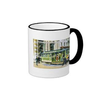 Powell and Market Streets, San Francisco, CA Coffee Mugs