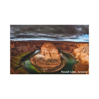 Powell Lake in Arizona Canvas Print